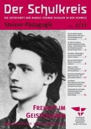 Steiner-Pädagogik - Rudolf Steiner Schulen der Schweiz