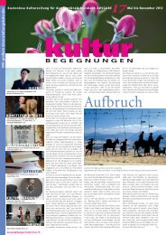 BEGEGNUNGEN - Kulturvision