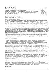 Edizione del forum 2012