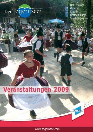 Veranstaltungen 2009 - Tegernsee.com
