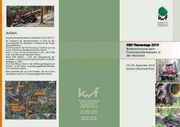 Anfahrt - KWF