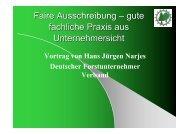 Ausschreibung - Deutscher Forstunternehmer Verband e.V.