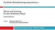 Forstliche Dienstleistungsunternehmen - Deutscher ...