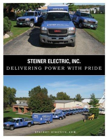 printable brochure - Steiner Electric