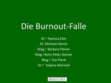 Die Burnout-Falle - Burnout und Achtsamkeit