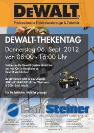 dewalt aktion - Weyland GmbH