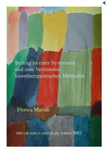 Beitrag zu einer Systematik und zum Verständnis ...