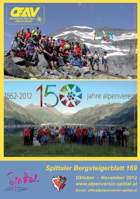 Spittaler Bergsteigerblatt 169 - Alpenverein Spittal/Drau