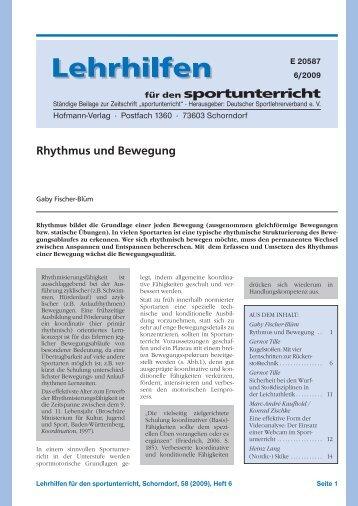 Crossover-Sport - Hofmann Verlag
