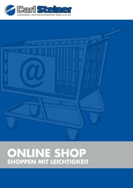 Onlineshop Hilfe - Carl Steiner