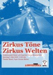 Quartier Circus Bruederholz - Knabenmusik Basel