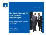 Der beste Storage für virtualisierte Umgebungen ... - Stemmer