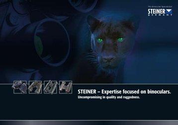 STEINER – Expertise focused on binoculars.