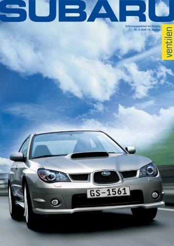 ventilen - Subaru Norge