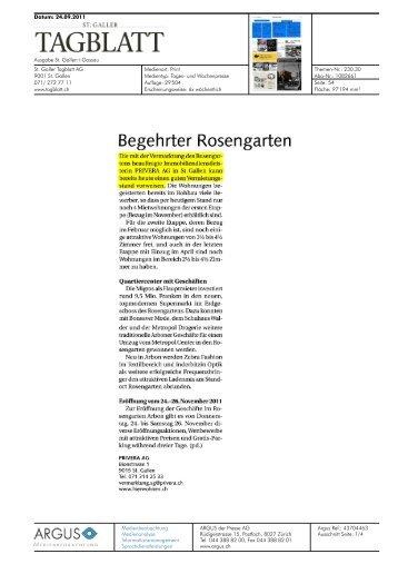 Begehrter Rosengarten - Privera