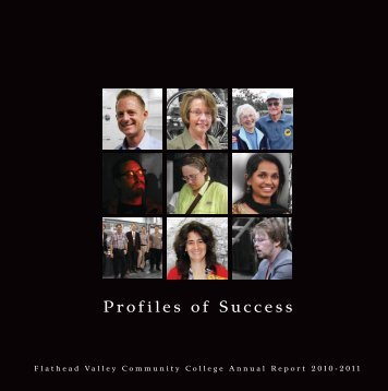 Profiles of Success - Flathead Valley Community College