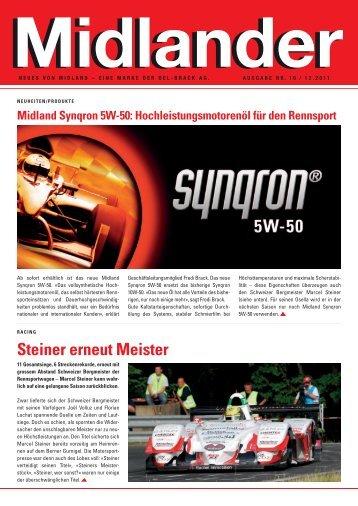Steiner erneut Meister - Midland
