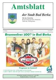 10. Juni 2007 - Kurstadt Bad Berka