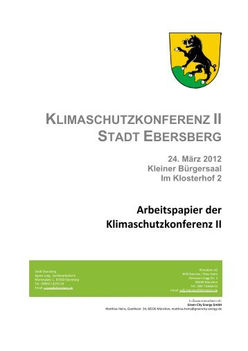Protokoll - Stadt Ebersberg
