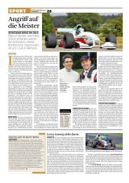 Angriff auf die Meister - Steiner Motorsport