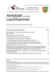 Amtsblatt 05/2012 - Stadt Lauchhammer