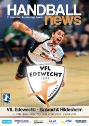 VfL Edewecht - Eintracht Hildesheim - Marketing und Partner