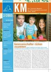 KM Magazin 2/2005 - Wohnungsgenossenschaft