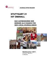 STUTTGART 21 IST ÜBERALL - Drehscheibe