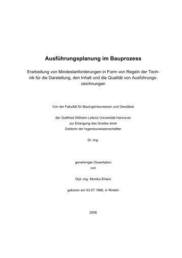 dissertation monika ehlers