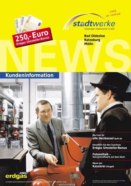 01-2004 - Vereinigte Stadtwerke GmbH