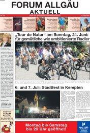 Juni 2012 - Forum Allgäu, Kempten