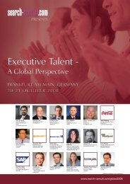Executive Talent - Search-Consult