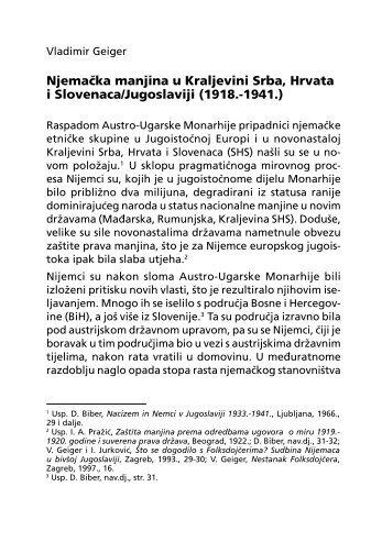 1.3.4.E. Njemačka manjina u Kraljevini Srba