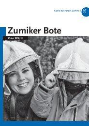 PDF – ZUBO-Broschuere – Winter 2010/2011 - Zumiker Bote