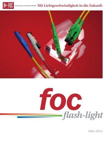 flash_4 - FOC - fibre optical components GmbH