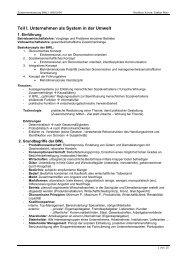 Zusammenfassung BWL I WS03/04 - Stefan-Marr.de