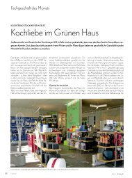Kochliebe im Grünen Haus - Stockmeyer,Telfs