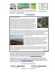 Newsletter October 2006 - Landscape Europe