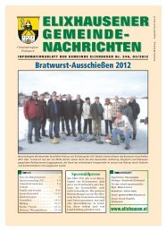 März 2012 - 246 - Gemeinde Elixhausen