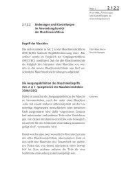 2.1.2.2 Änderungen und Klarstellungen im Anwendungsbereich der ...