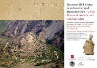 Ein neues Bild Kretas in archaischer und klassischer Zeit A New ...