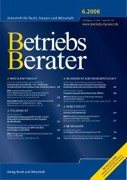 Zeitschrift für Recht, Steuern und Wirtschaft www ... - Technikrecht
