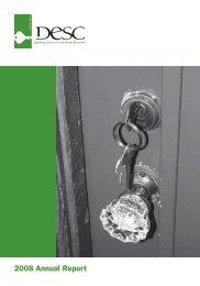 2008 Annual Report - DESC