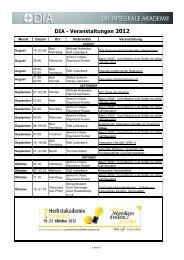 DIA Flyer Programm 2012