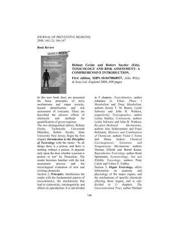 Book Review - institute of public health iasi romania