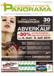 Ausgabe 05/11 - Steiermark Panorama