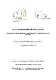Tagungsprogramm - DGG