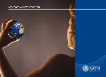 Innovations Magazine (pdf) - University of Bath