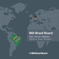 BDI Brazil Board Broschuere Juni 2012