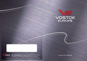 Catalogue 2009 - Vostok Europe